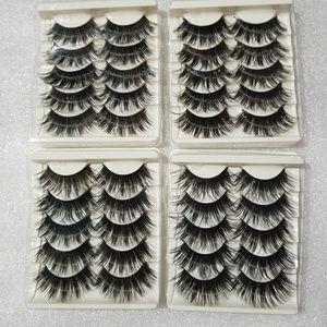 Other - 10 Pairs 3D Top Lash XL Long Eyelashes